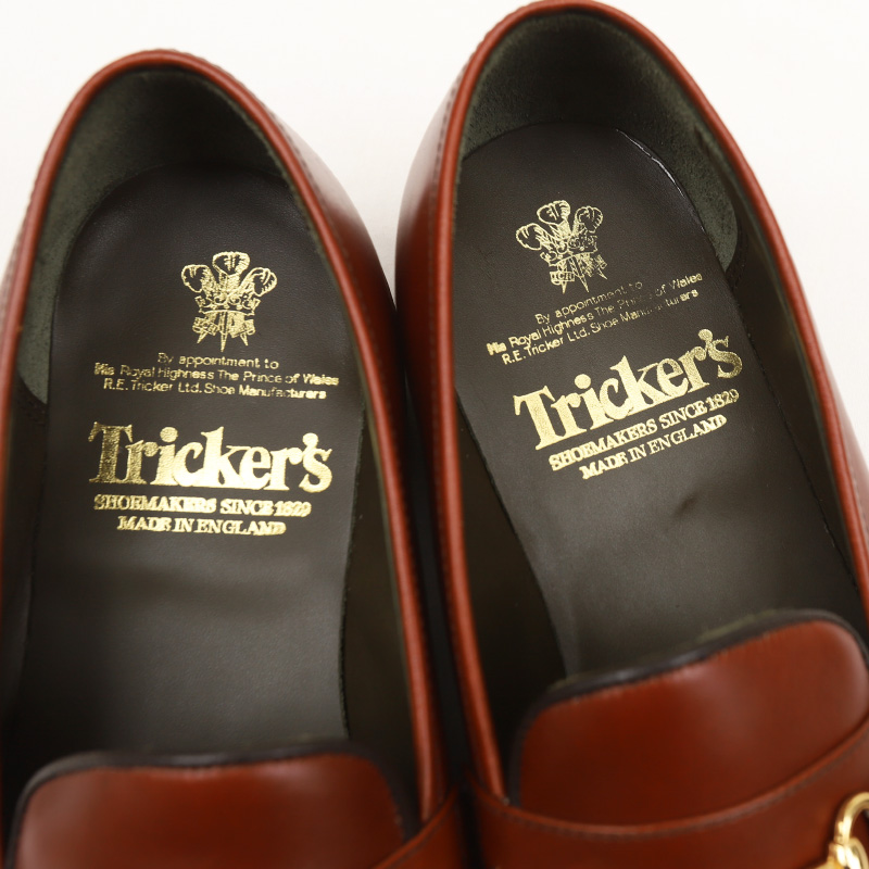 Tricker's/トリッカーズ gucci trim loafers ビットローファー  M5777