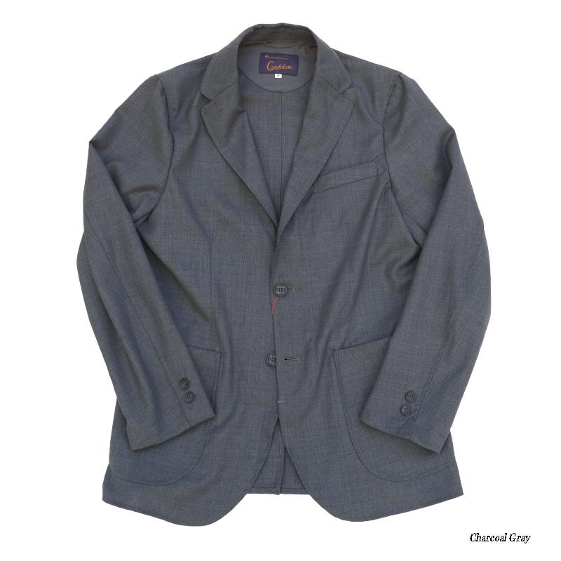 Candidum Summer Wool シャツジャケット C201193