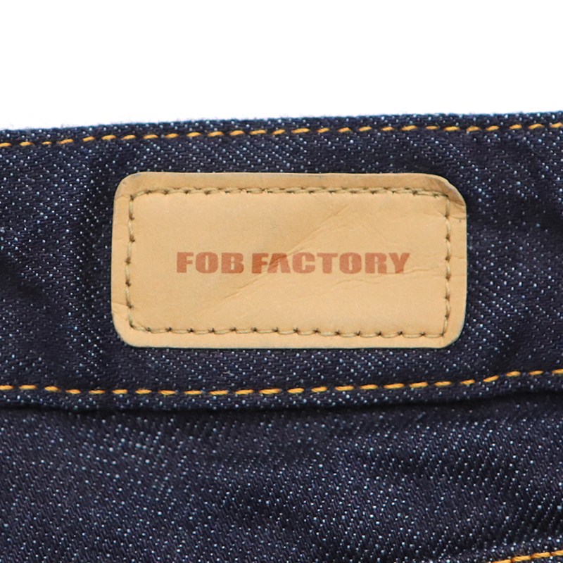 FOBファクトリー ストレッチスリムストレートジーンズ G1138(ワンウォッシュ)(Ladies)