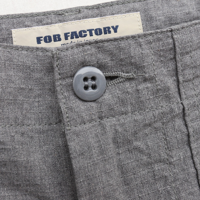 FOB FACTORY RIP-STOP BAKER SHORTS リップストップベイカーショーツ FFP001