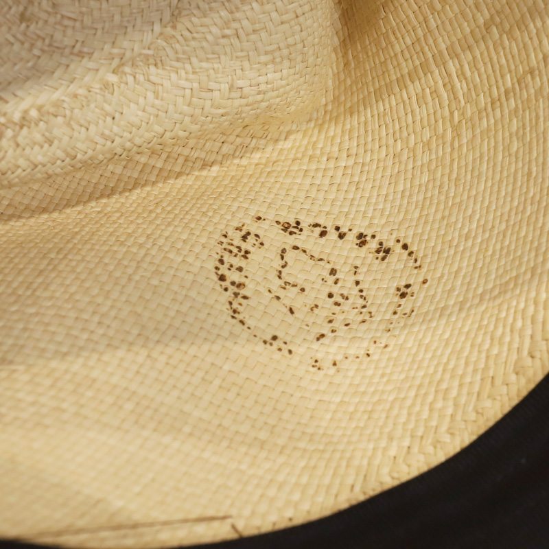 THE REPRESSION HAT Open Crown Style Panama Hat
