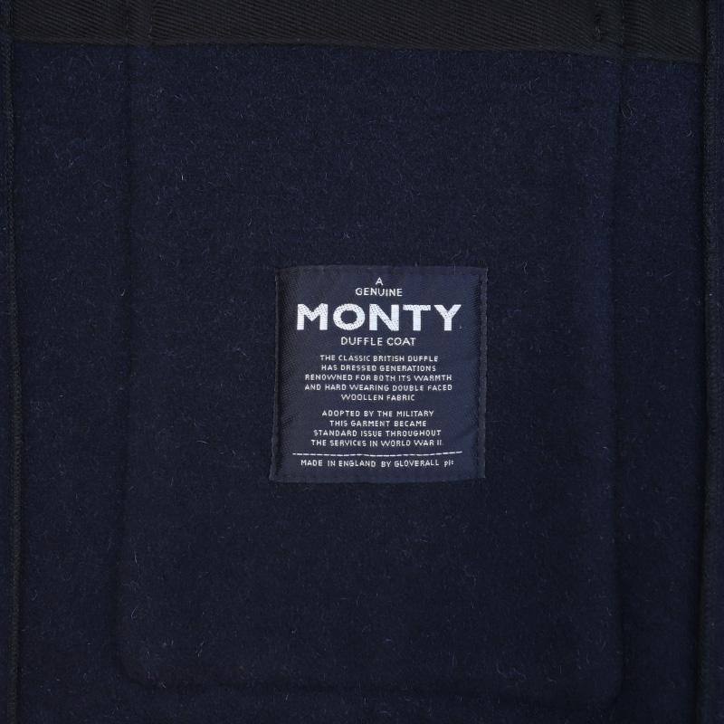 Gloverall/グローバーオール MONTY モンティ NAVY ダッフルコート 5750