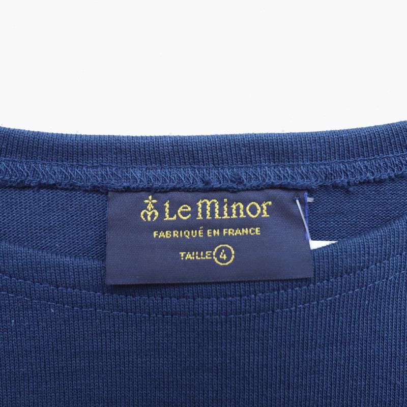 Leminor/ルミノア 半袖バスクシャツ LEF995021
