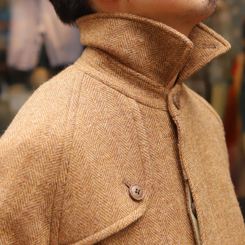 SOUTIENCOL /スティアンコル SLIP-ON Camel Tweed 予約者様限定
