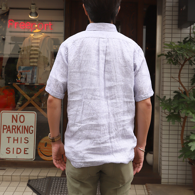 SOUTIENCOL/スティアンコル RE-MAKE POLO CANCLINI H/S