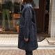 SOUTIENCOL Chebourg/スティアンコル シェルブールブラックウォッチステンカラーコート