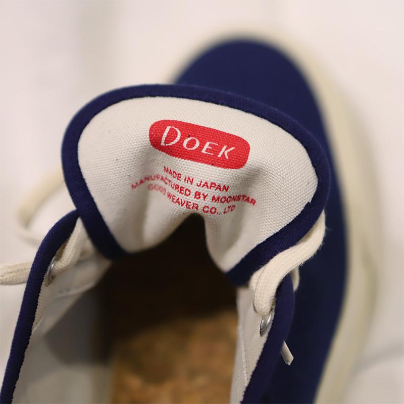 Doek/デュック  OXFORD スニーカー Navy,Ecru
