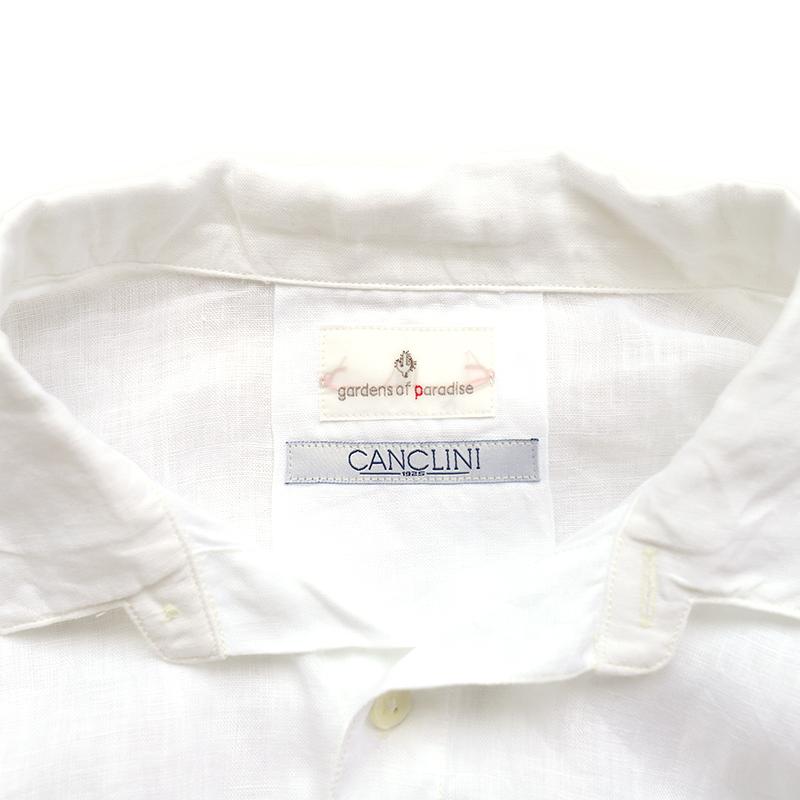 gardens of paradise Scarlette CANCLINI LINEN/ガーデンズオブパラダイス スカーレット