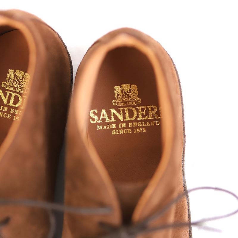 SANDERS(サンダース) マッドガード ブリットチャッカブーツ(レディース)