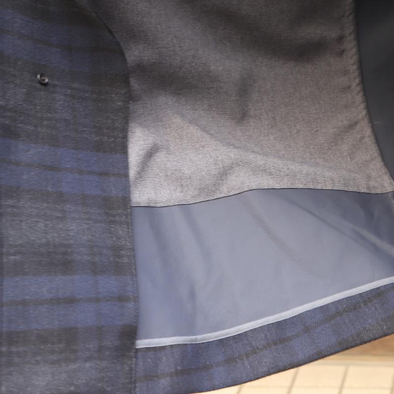 SOUTIENCOL スティアンコル SLIP-ON スリップオン OLMETEX ゴム引きステンカラーコート 792010