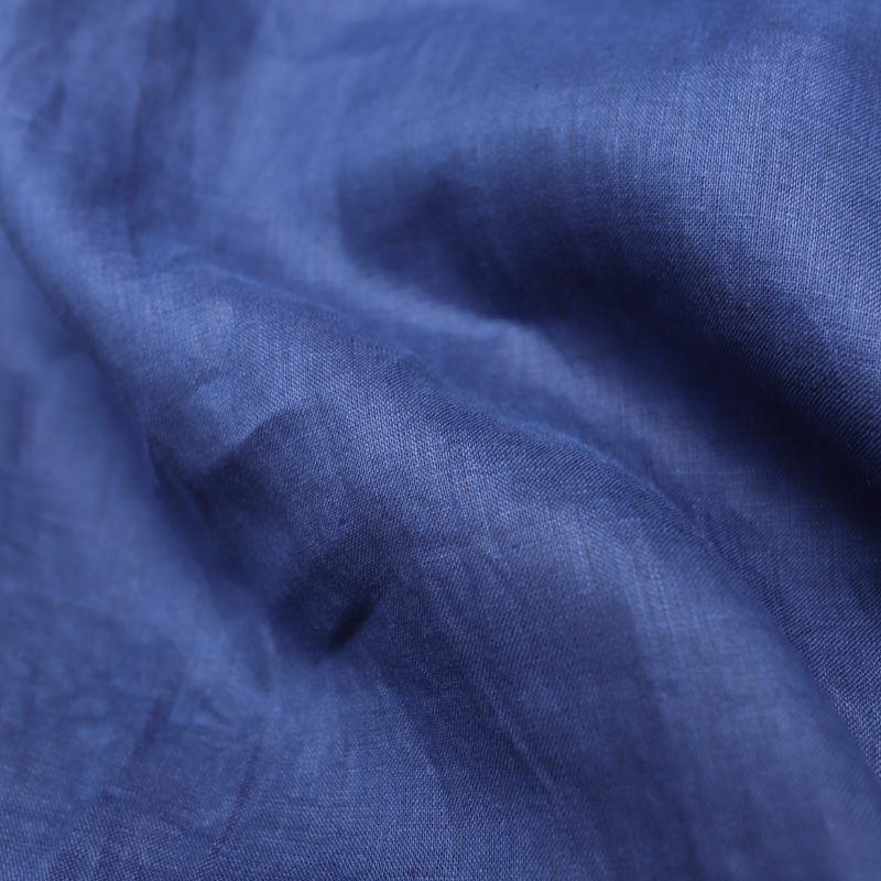 SOUTIENCOL/スティアンコル RE-MAKE POLO H/S CANCLINI LINEN NAVY