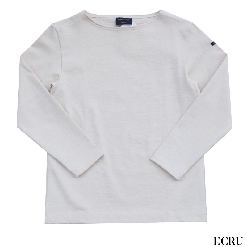 Leminor(ルミノア) バスクシャツ 無地 カットソー