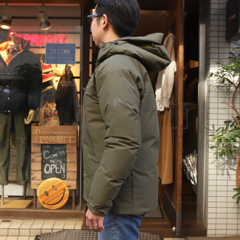 MAMMUT/マムート CRATER SO THERMO HOODED JACKET AF MEN