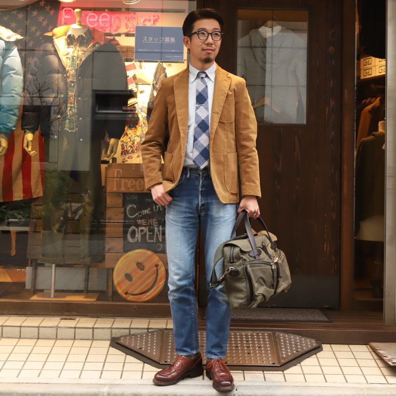 SOUTIENCOL スティアンコル IVY LEAGUE STRIPE OX