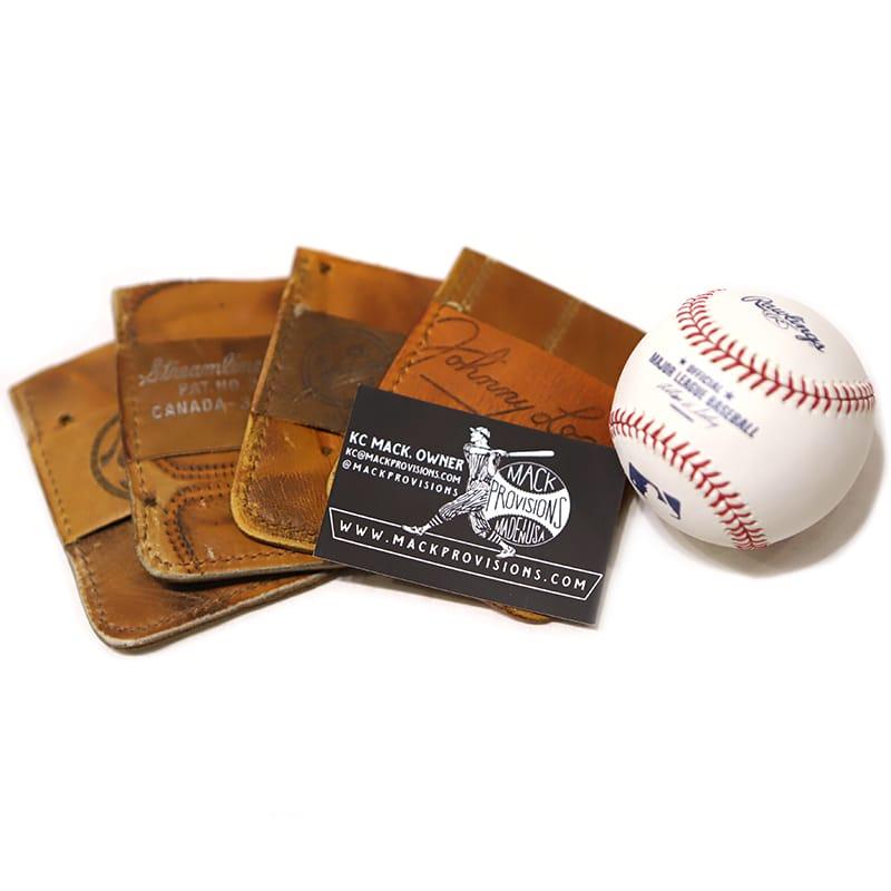 Mack Provisions VintageBaseballGlove card holder カードホルダー