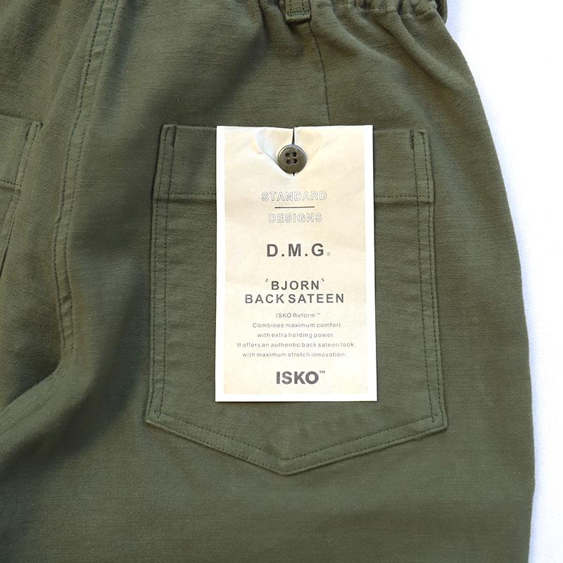 D.M.G  ストレッチベーカーパンツ 14-108T