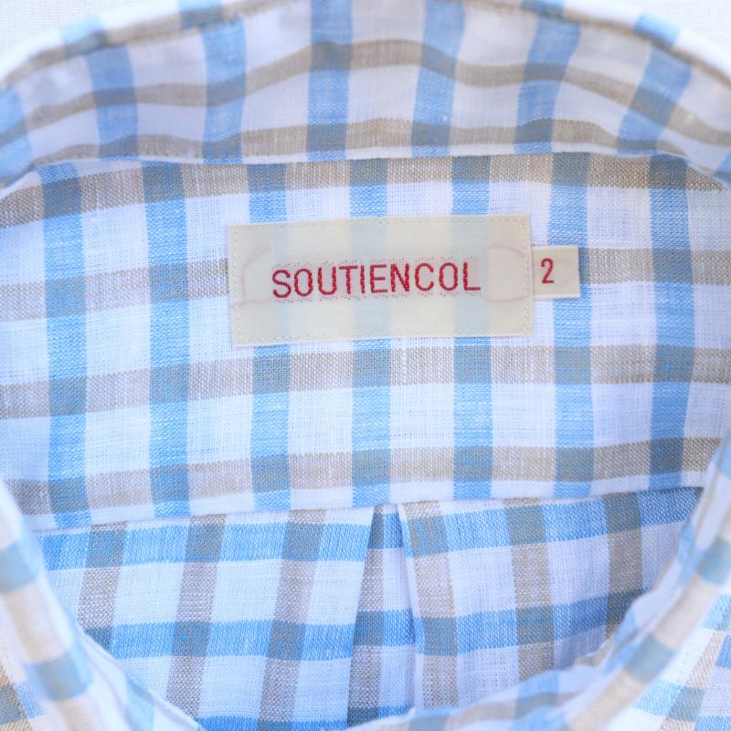SOUTIENCOL SanFrancisco 2014 SOMELOS LINEN/スティアンコル BD SHIRT