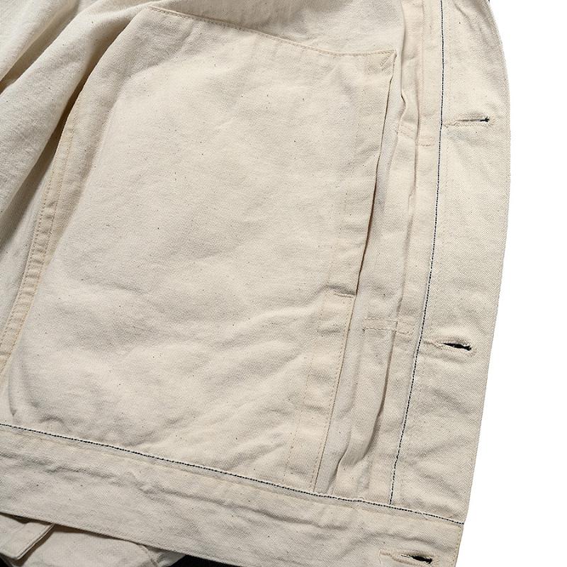 WORKERS/ワーカーズ White Denim Jacket