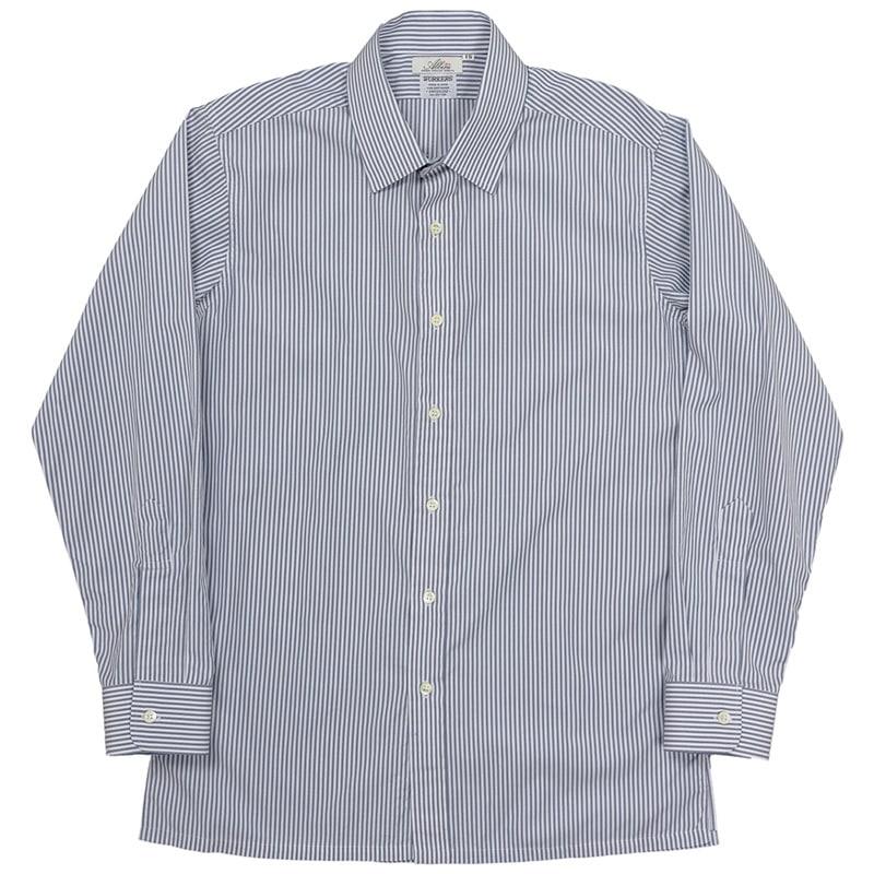 WORKERS/ワーカーズ Vendome Shirt Arbini Stripe