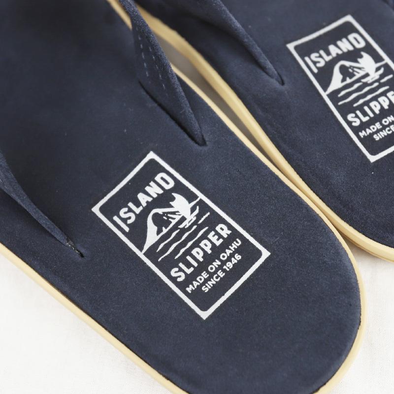 ISLAND SLIPPER/アイランドスリッパ SUEDE SANDAL PT203SL ネイビー スウェード