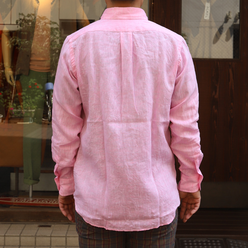 SOUTIENCOL IVY LEAGUE CANCLINI LINEN Pink/スティアンコル アイビーリーグ