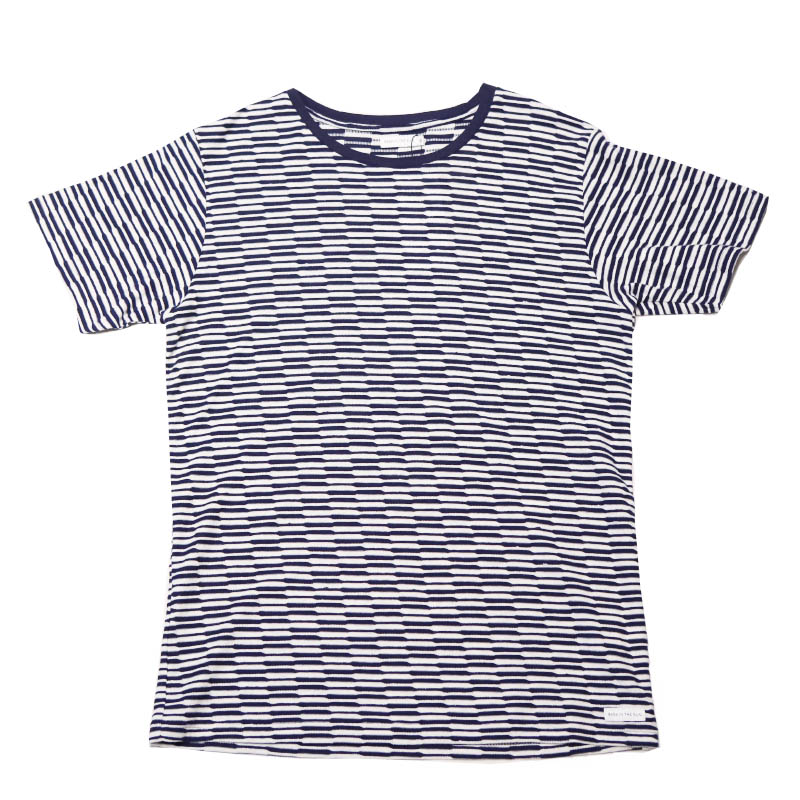BASK IN THE SUN ASUR ボーダーTEE