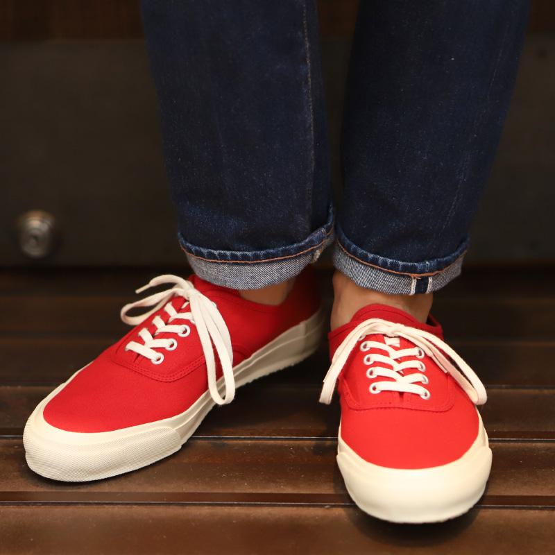 DOEK/デュック OXFORD スニーカー RED