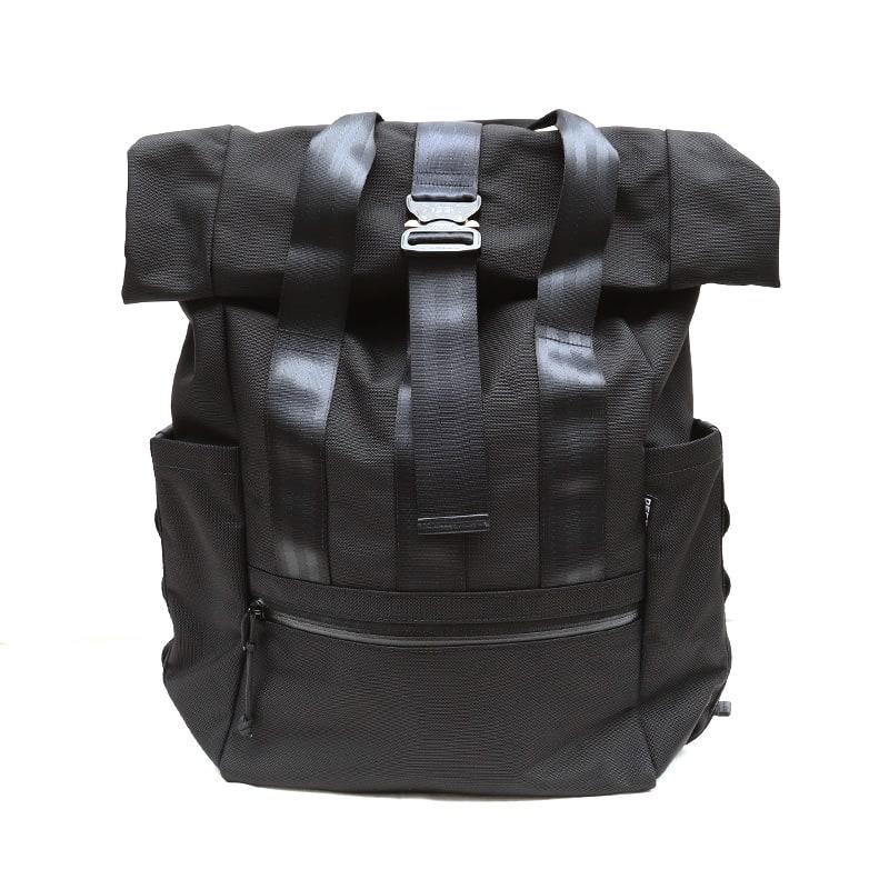 DEFY/デフィー VerBockel RollTop Backpack BLACK