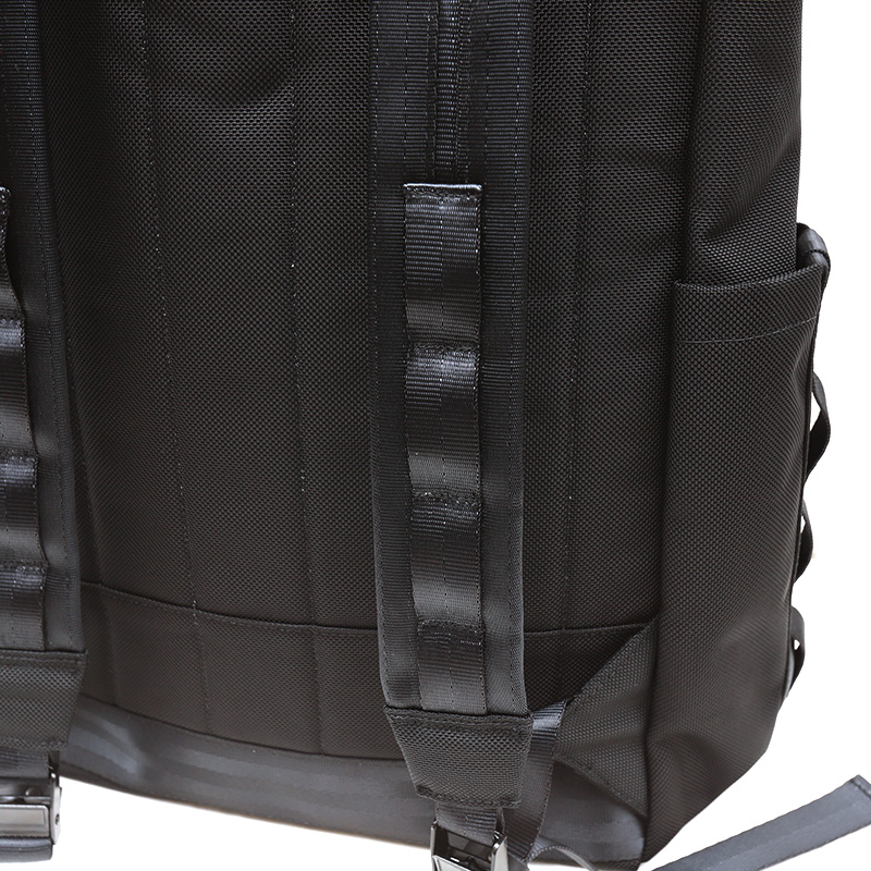 DEFY/デフィー VerBockel RollTop Backpack BLACK