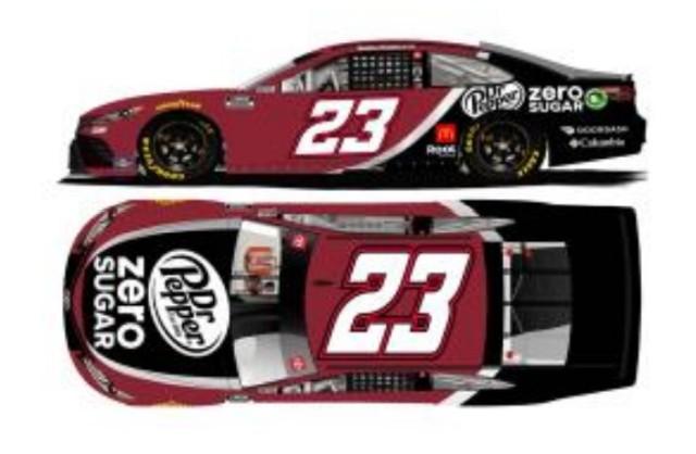 予約 C232165DRPDX ライオネルレーシング 1/64 トヨタ カムリ NASCAR 2021 ババ・ウォレス #23 Dr.ペッパー・ゼロシュガー