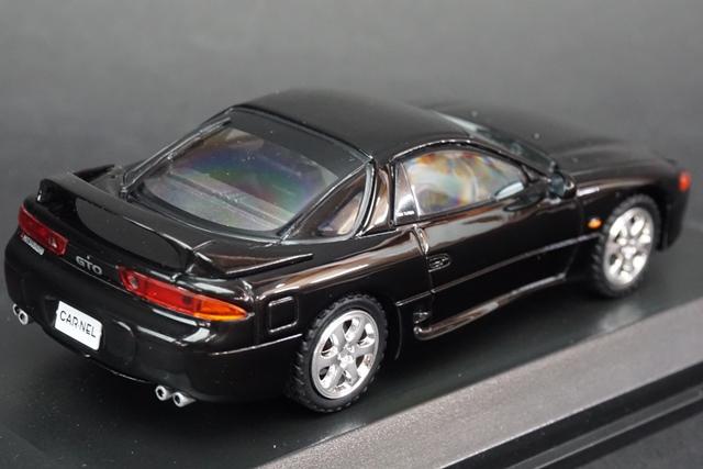 1/43 カーネル CL439601 三菱 GTO Twin Turbo (Z16A) 1996 Pyreness Black 宮沢模型特注