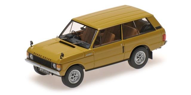 取寄せAL410103 Almost Real Model 1/43 Range Rover 1970 Bahama Gold