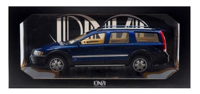 予約 DNA000070 DNA 1/18 ボルボ XC70 オーシャンレース 2006 ブルー 599個限定