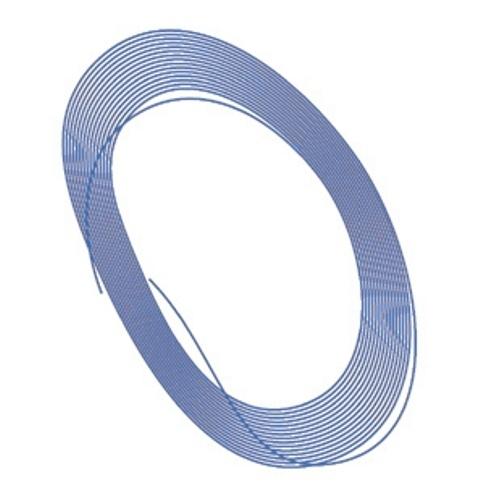 取寄せPG37 タメオキット   Blue color cable diam. 0,5mm 2 meters