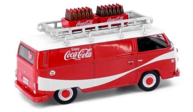 新品 COKE007 タイニーCity  フォルクスワーゲン T2 コカ・コーラ 1970年代 ボトル付き