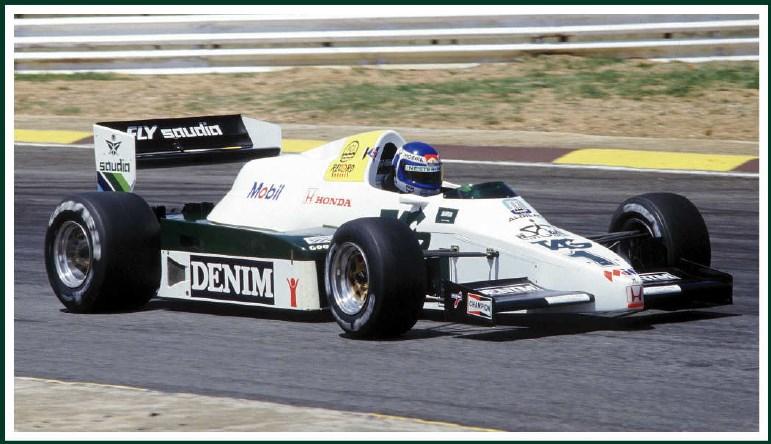 取寄せSLK119 タメオキット 1/43 ウィリアムス ホンダ FW09 G.P.Sud アフリカ 1983 メタルキット