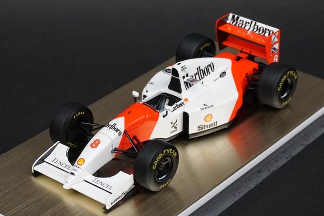 1/43 メイクアップ/アイドロンフォーミュラ FE028A マクラーレン フォード MP4/8 日本GP 1993 ウィナー No.8 アイルトン・セナ