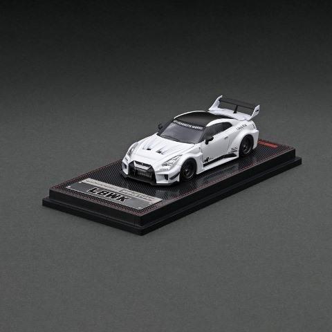 予約 IG2380 イグニッションモデル 1/64 日産 LB-Silhouette WORKS GT 35GT-RR Matte Pearl White LBオリジナルパッケージ
