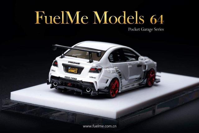 予約 FM64004PG-G Fuelme Models 1/64 スバル バリス SUBARU Varis STI SEMA show special version ホワイト
