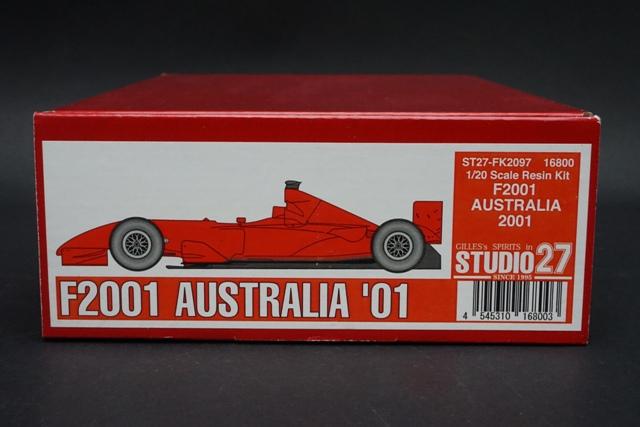 1/20 スタジオ27 FK2097 フェラーリ F2001 オーストラリアGP 2001