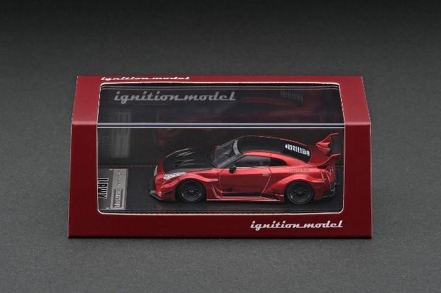 予約 IG2387 イグニッションモデル 1/64 日産 LB-Silhouette WORKS GT 35GT-RR Red Metallic LBオリジナルパッケージ