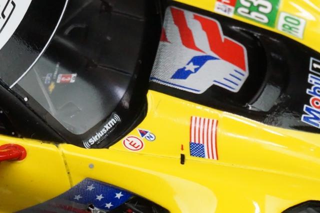 1/43 スパーク S7030 シボレー Corvette C7.R #63 Corvette Racing 24H Le Mans 2018