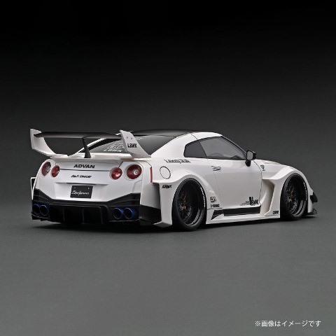 予約 IG2541 イグニッションモデル 1/43 日産 LB-Silhouette WORKS GT 35GT-RR White ★生産予定数:120pcs LBオリジナルパッケージ
