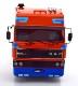 新品 RK180094 ROAD KINGS 1/18 DAF 3600 Space Cab 1986 orange/blue