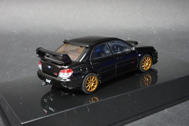 1/43 オートアート 58683 スバル インプレッサ WRX STi 2006 ブラック
