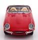 新品 KKDC180482 KK scale 1/18 ジャガー E-Type Convertible open Series 1 RHD 1961 red/creme interieur