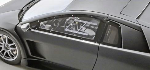 新品 KSR18505BK 京商 1/18 ランボルギーニ Murci?lago R-GT マットブラック 『静岡ホビーショー2018』