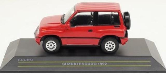 新品 F43-159 First43 1/43 スズキ エスクード 1992 レッド