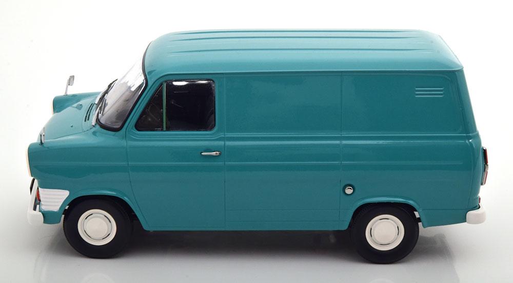 新品 KKDC180492 KK scale 1/18 フォード Transit Bus 1965 Turquoise