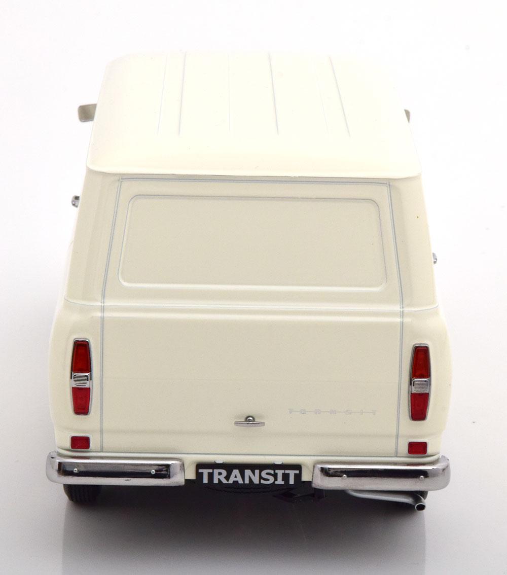 新品 KKDC180493 KK scale 1/18 フォード Transit Bus 1965 Creme